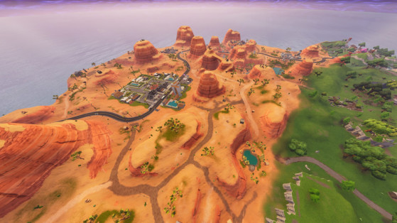 Carte dans Fortnite