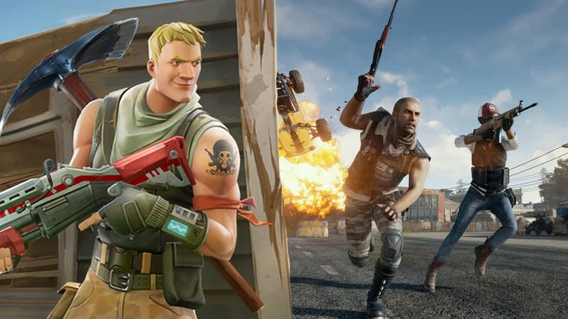 Quel Battle Royale choisi parmi Rules of Survival, PUBG et Fortnite ?
